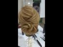 """Причёска """"Подружка невесты"""", обучение в студии KEUNE"""
