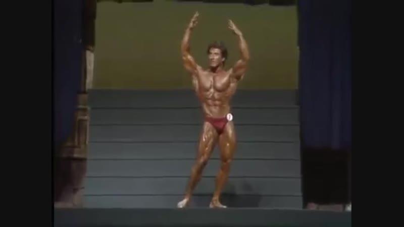 Mr. Olympia 1983. Frank Zane