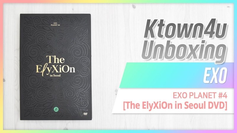[Ktown4u Unboxing] EXO - EXOPLANET4 [The ElyXiOn] DVD 엑소 플래닛4 언박싱