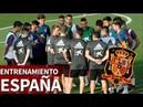 Primer entrenamiento de la Selección de Luis Enrique | Diario AS
