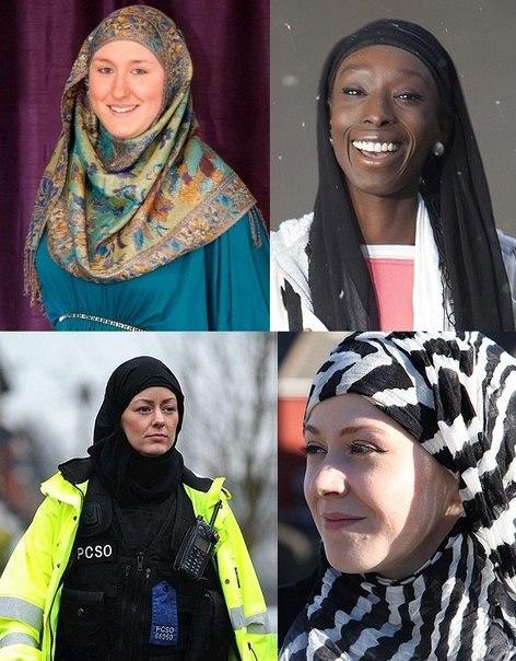 Познакомьтесь с четырьмя из 5000 британцев, которые ежегодно принимают Ислам.