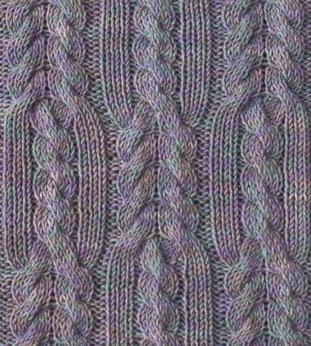 Вязание спицами. Косы.
