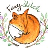Foxystitch, равномерка, мулине ДМС нарезка