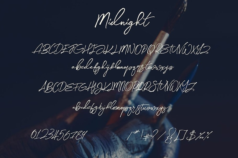 Midnight_Brush___SVG_Font.zip