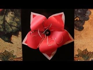 Красивые открытки-поздравления 3д с цветами своими руками