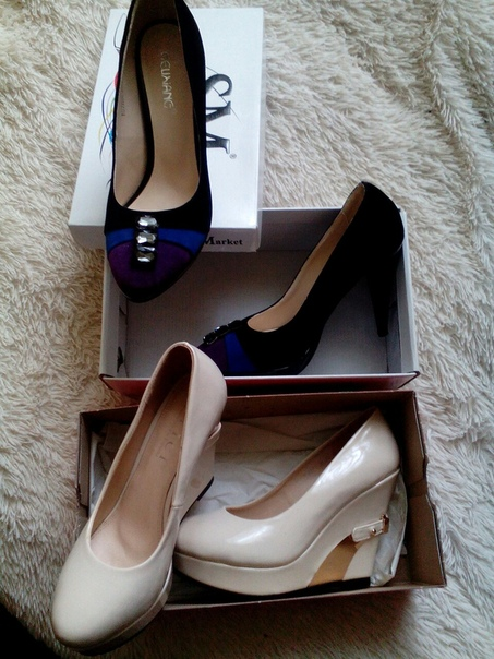 2 пары туфель 36 размера