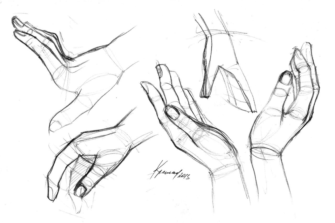Как нарисовать руки в стиле аниме - wikiHow