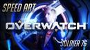 Overwatch in Real Life pt.2   Speed Art № 41