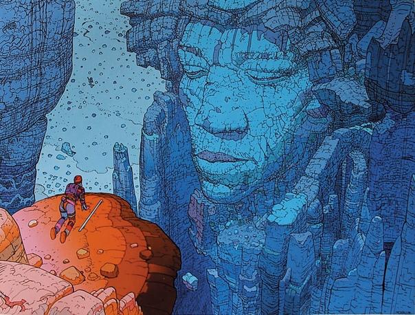 В среде художников, аниматоров и иллюстраторов комиксов парижанин Жан Жиро (19382012 воистину гуру. Прославился он тем, что его картины масштабны и запредельно детальны одновременно. Обычно