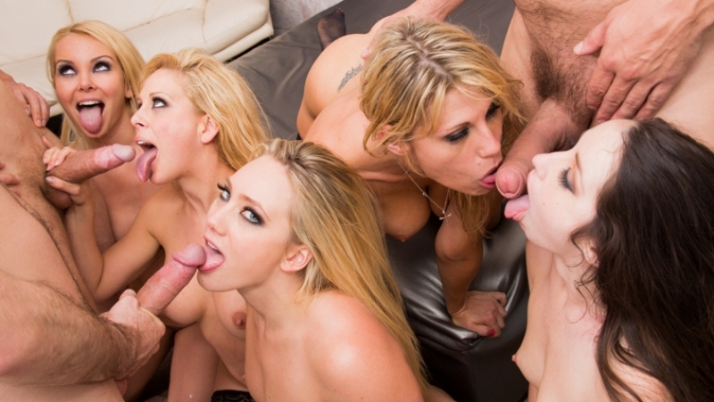 AJ Applegate, Lola Foxx, Cherie De Ville, Aaliyah Love, Charisma Cappelli HD 1080, Orgy, Big Tits, Lesbian,