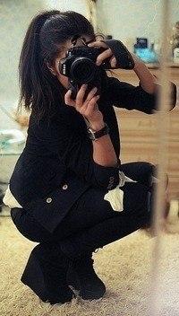 скачать фото на аву девушек брюнеток со спины