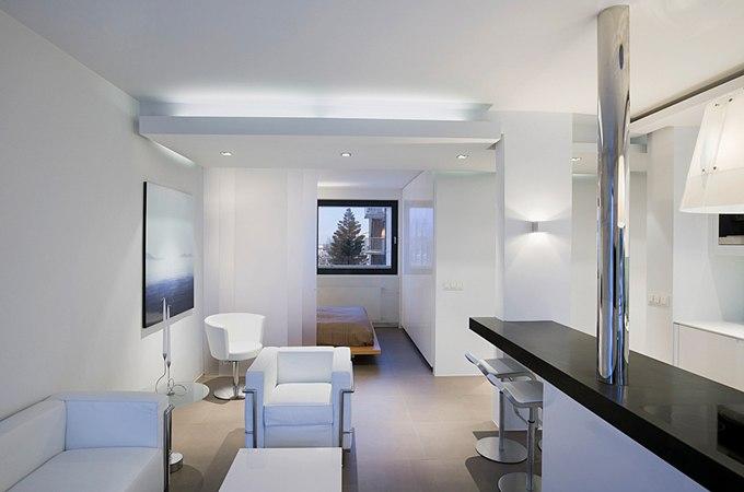 Интерьер квартиры-студии 52 м в Рейкьявике / Исландия от Gudmundur Jonsson - http://kvartirastudio.