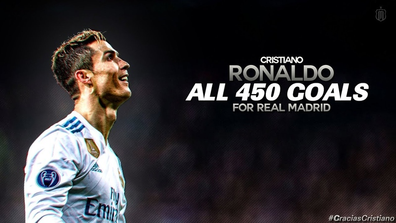 Cristiano Ronaldo All 450 Goals For Real Madrid w English Commentary