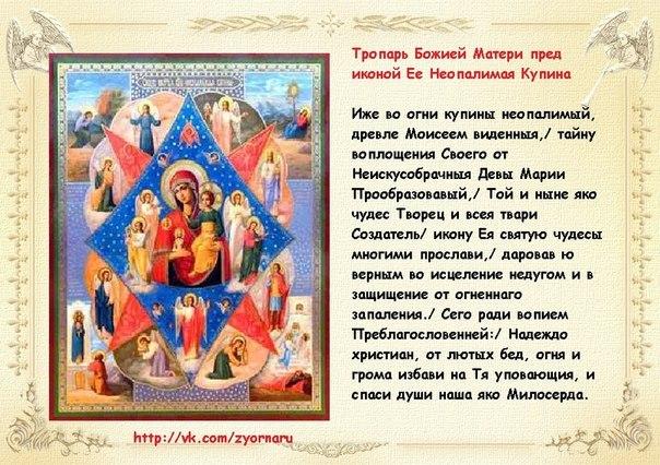 Икона и молитвы неупиваемая