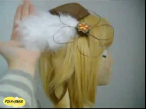 ░Cosplay Tutorial░How to Make Mami Tomoe's Feather Clip