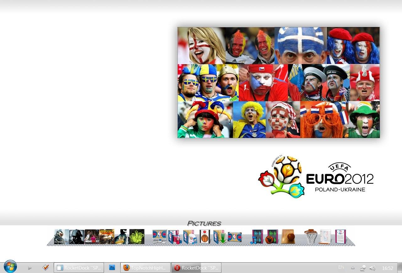 Евро 2012 на рабочий стол