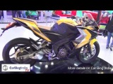 Bajaj Pulsar 400 SS At Auto Expo 2014- Walk Around Review, Features And Specifications
