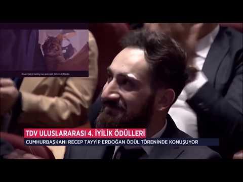 Recep Tayyip Erdoğan - İYİLİK ÖDÜLÜNE layık görülen Mardin Derikli Hasan Kızılı tebrik etti