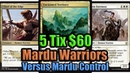 MTG Budget Modern Warriors vs Mardu Control