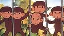 В каждом маленьком ребенке! Песня осторожно обезьянки из мультфильма