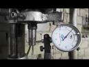 Промежуточный отчет о восстановлении сверлильного станка НС 12 Заменены подшипники выровнен вал шпинделя пока биение две сот