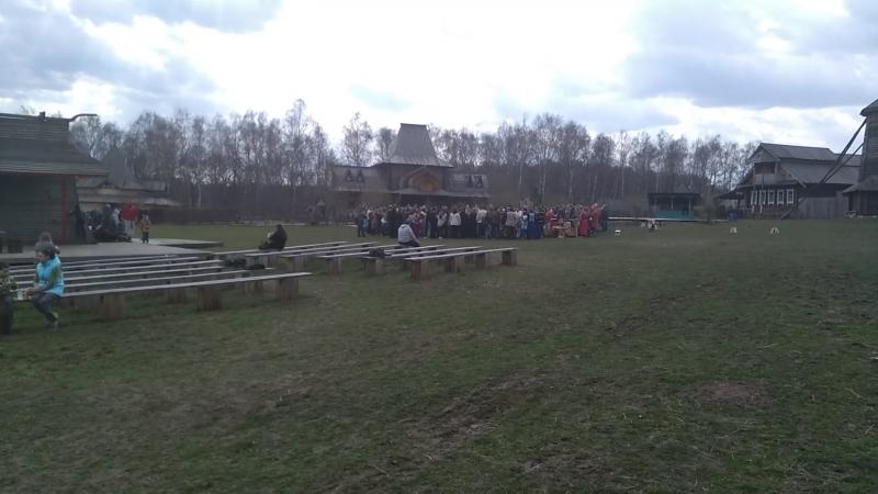 Народный Праздник в Славянском Кремле на Подольской Земле