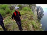 Bear Grylls: Extreme Survival Caught On Camera: Base Jump Accident