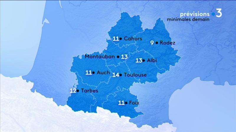 Les prévisions de Météo France de ce jeudi : des pluies soutenues sur les Pyrénées-Orientales