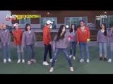 290418 [SBS Running Man] TWICE Dahyun dance to BTS - FIRE