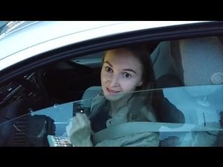Девушка на BMW