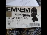 Eminem performing at Wembley Stadium | 11th July 2014