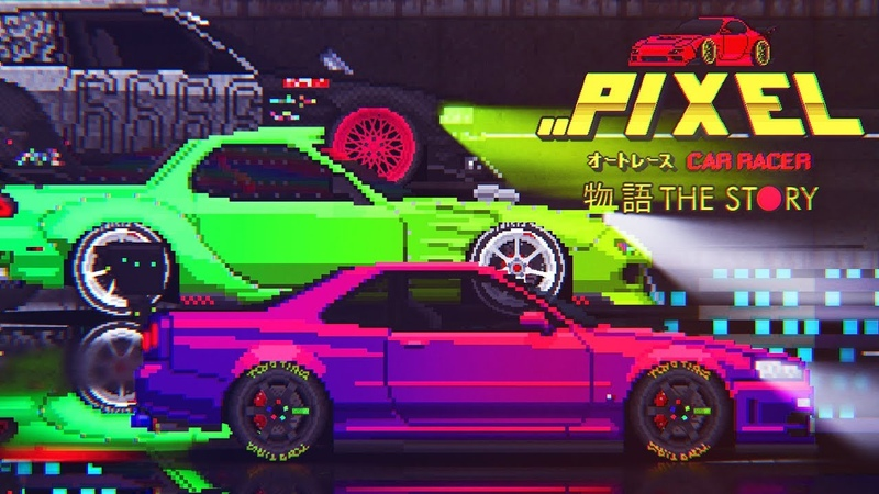 Pixel Car Racer Story Mode - Trailer