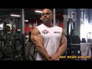 Lukas Osladil Photo Shoot - 6 Days Out from Arnold Classic 2014