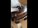Ремонт компрессора - разборка