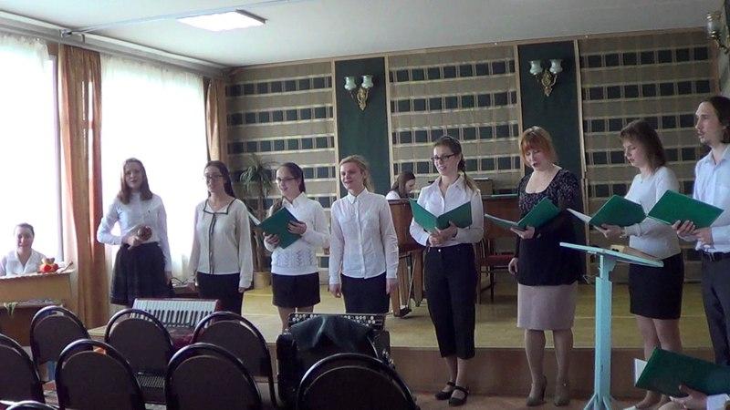 Экзамен по вокальному ансамблю Скоро в школу Кошелева Елизавета