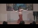 Sara performing Zay el Asal on Smooth Arabian Night 23926