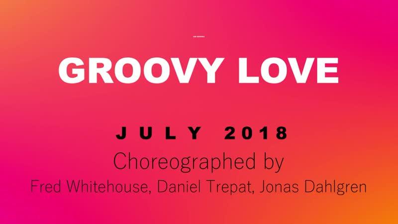 Groovy Love - Line Dance (Dance Teach in English 中文)