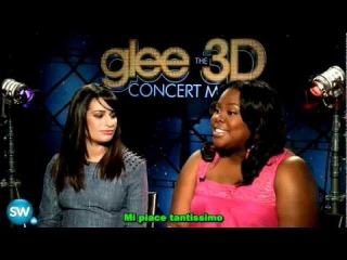 Glee 3d Concert Movie Lea Michele Amber Riley