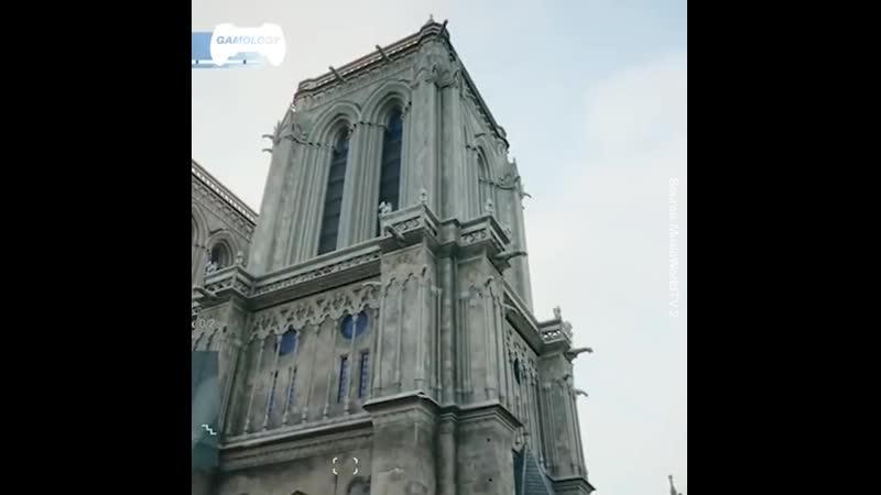 Hommage pour Notre-Dame de Paris dans Assassin's Creed Unity