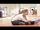 [Мышцы - о фитнесе 2.0] Уроки гибкости для начинающих! Дома и в зале! Лена Романова