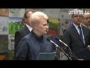 Prezidentė D. Grybauskaitė pagerbė tremties aukas - Atmintis gyva buvo ir bus !
