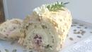 Воздушный меренговый рулет😍вкусно и быстро😍meringue cake roll меренговыйрулет янабенрецепты