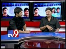 Julayi team in Tv9 studio - Part 1 - Tv9