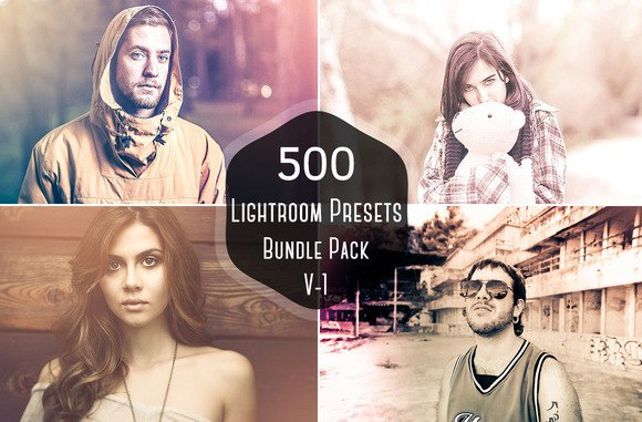 Пресет 500 пресетов для lightroom