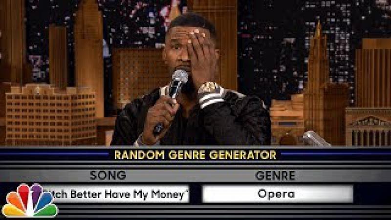 Musical Genre Challenge with Jamie Foxx