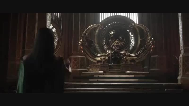 Fragments_ ☆Tor_3_Ragnarek/Тор 3: Рагнарёк☆ — Встреча Тора и Хелы.