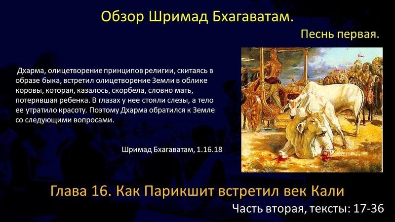 Обзор Шримад Бхагаватам, 1.16.17-36