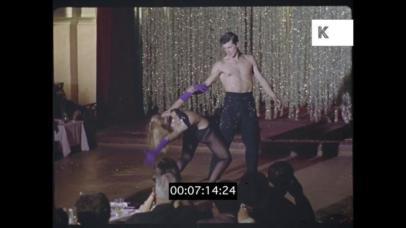 1960s Cabaret Club Burlesque Nightlife 35mm