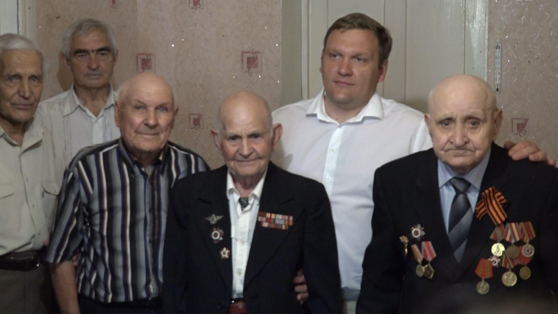 Участнику ВОВ Илье Ивановичу Дурненкову исполнилось 95 лет!