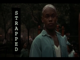 Strapped (1993) Bokeem Woodbine, Michael Biehn, Fredro Starr, Sticky Fingaz, Busta Rhymes, Das EFX, Kool Moe Dee, Yo-Yo, Chi Ali